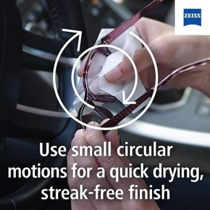 Zeiss Alcohol Free Lens Cleaning wipe (30pcs)